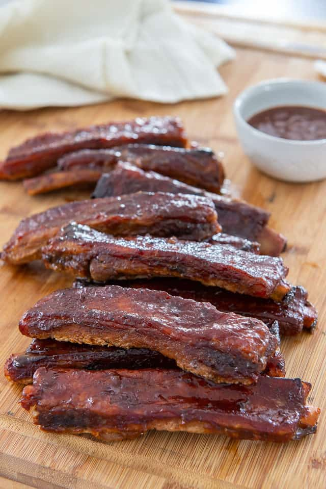 BBQ Pork Spare Ribs - Easy Recipe Made Inside