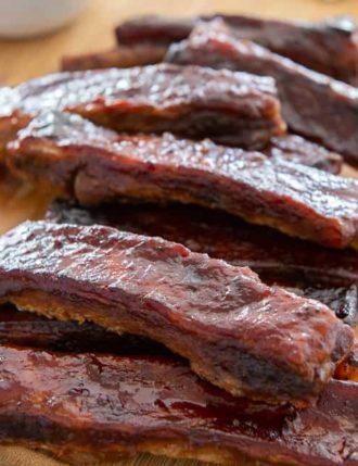 Oven BBQ Pork Spare Ribs