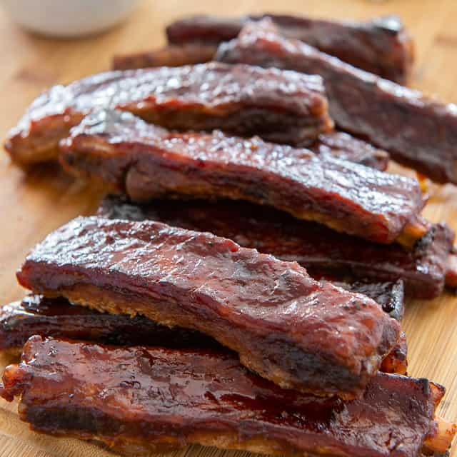 Bbq Pork Spare Ribs Easy Recipe Made In The Oven