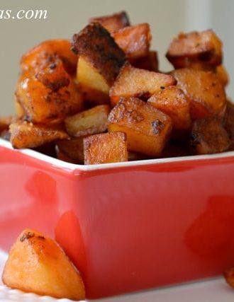 Crispy Paprika Potatoes