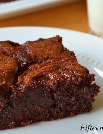 Bourbon Butterscotch Brownies