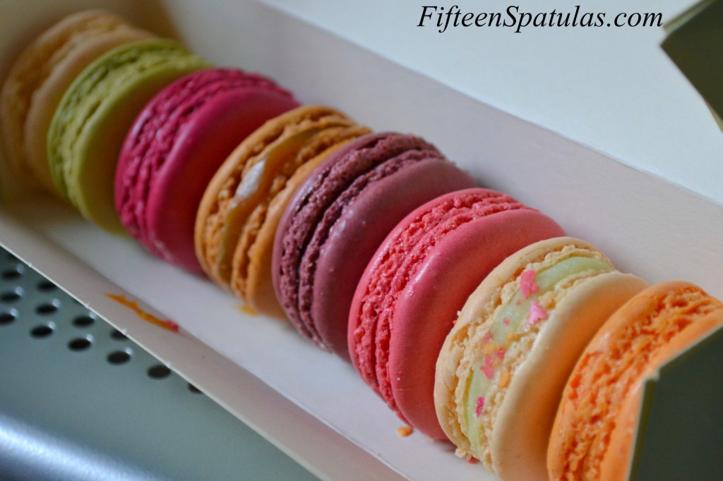 Brightly Colored Macarons in a Box from Laduree