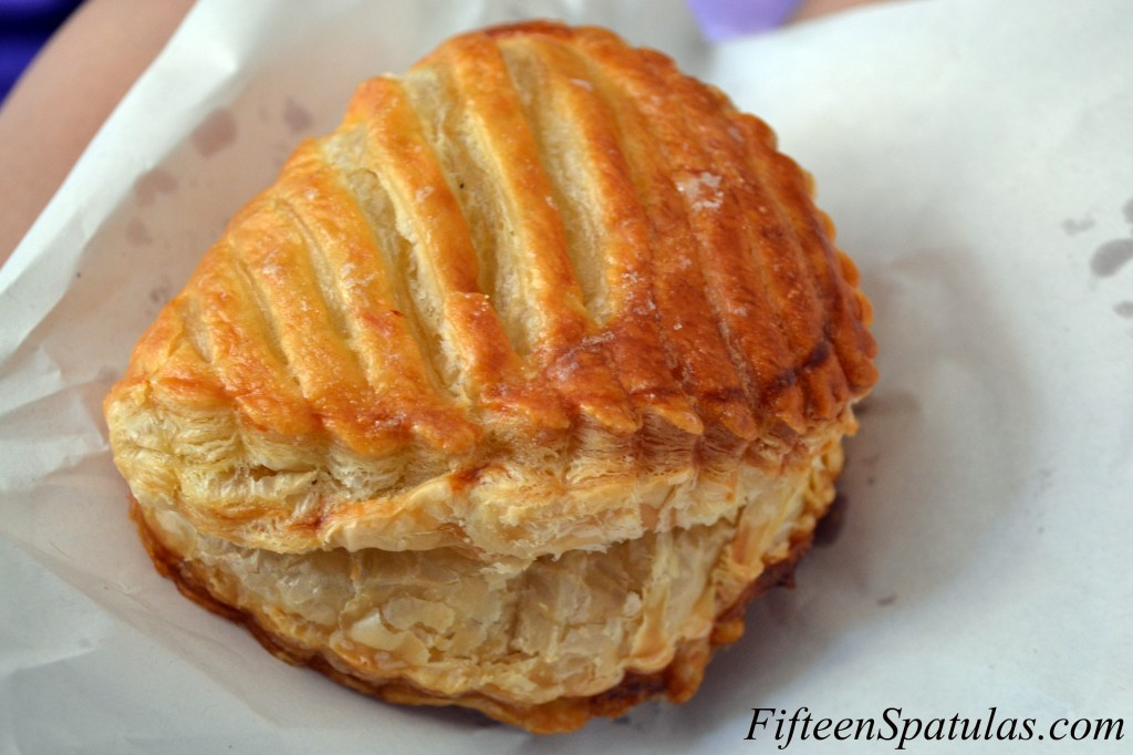 Close up of Flaky French Pastry