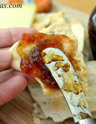 Rosemary Croccantini Flatbread Crackers