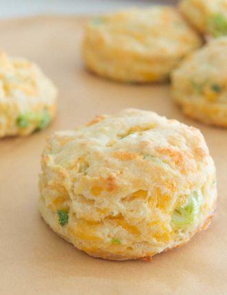Cheddar Scallion Biscuits