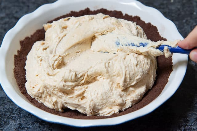 Mascarpone Recipes - Peanut Butter Mousse Filling for Pie