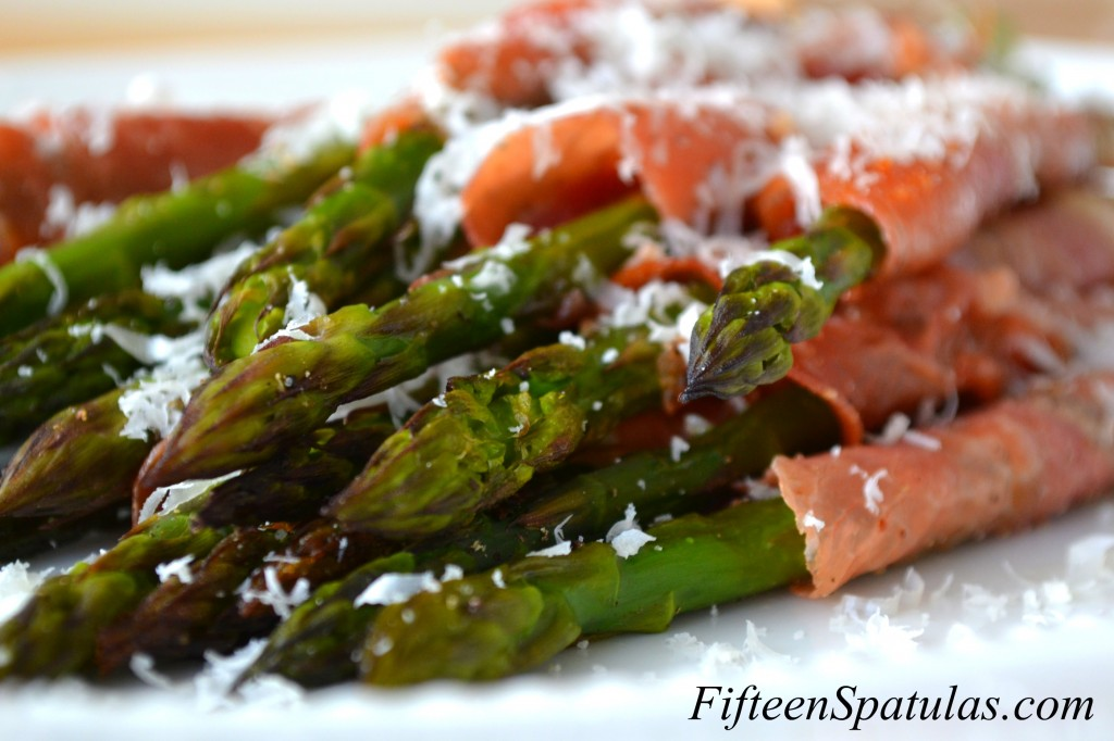 recipe: asparagus prosciutto parmesan [5]