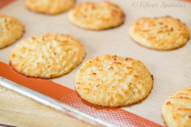 Baked Mashed Potato Mounds with Criss Cross Tops