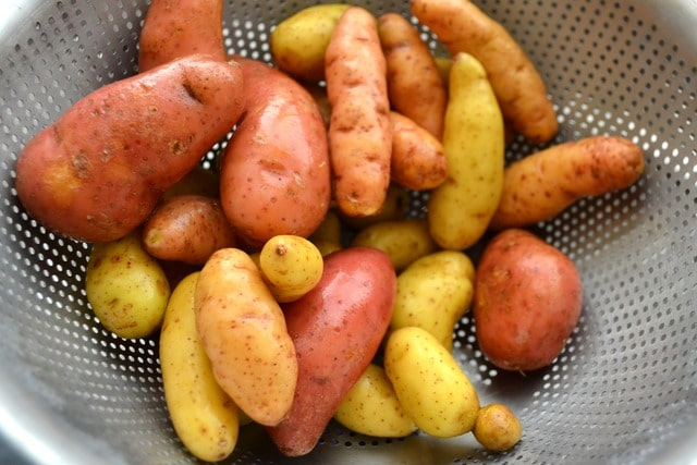 Fingerling Potatoes With Dipping Aioli Fifteen Spatulas