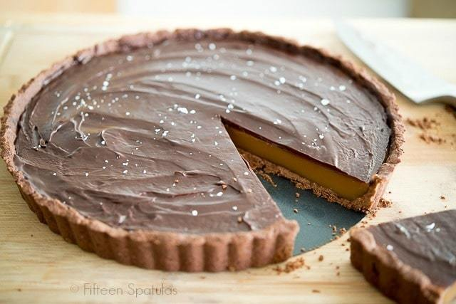 Salted Caramel Chocolate Ganache Tart - Indulgent dessert goodness!