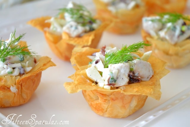 Homemade Phyllo Cups Fifteen Spatulas