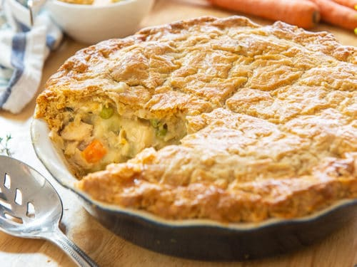 Chicken Pot Pie Easy Homemade Chicken Pot Pie Recipe
