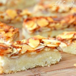 Bee Sting Bars with Honey Almonds