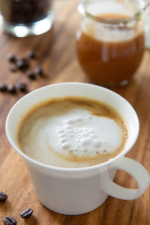 Caramel Macchiato - With Espresso, Foamed Milk, and Caramel Sauce