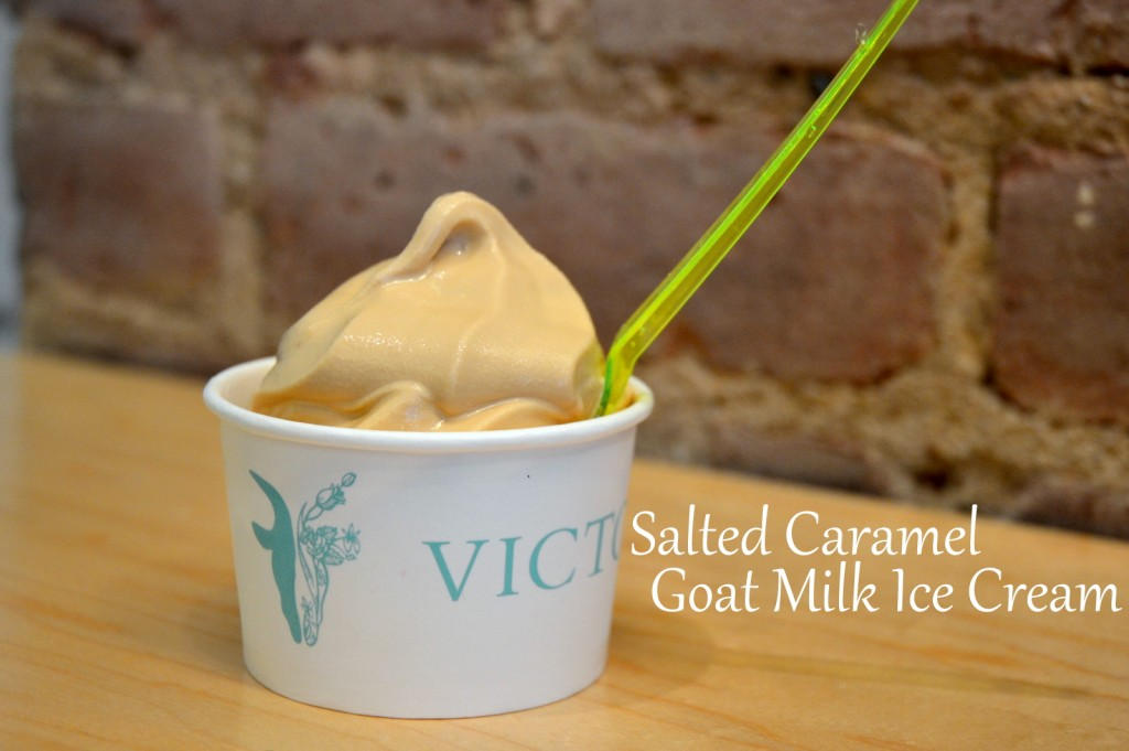 Victory Goat Milk Ice Cream in Cup