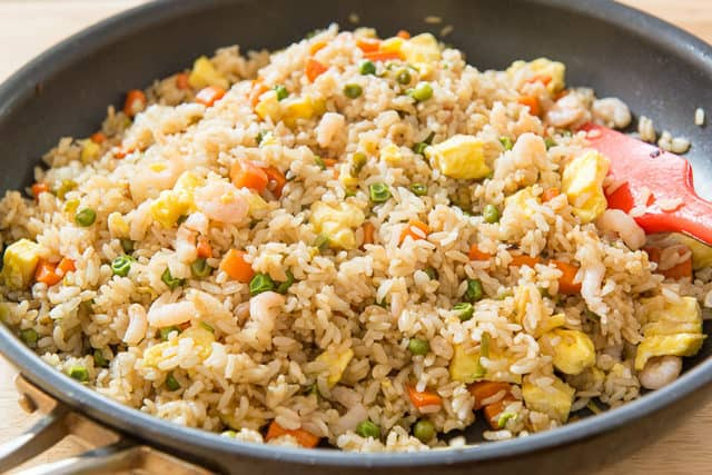 Fried Rice How To Make Fried Rice Fifteen Spatulas