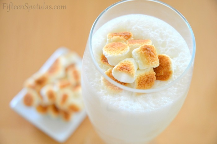 Marshmallow Malt Milkshake