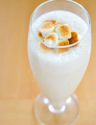 Toasted Marshmallow & Malt Milkshake