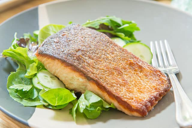 How to Cook Salmon in a Pan with Crispy Skin