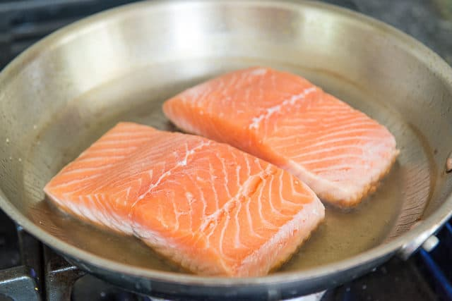 Pan Cooked Salmon - How to Pan Fry Salmon