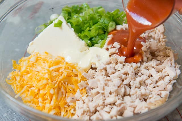 How to Make Buffalo Chicken Dip - Franks hot sauce chicken dip