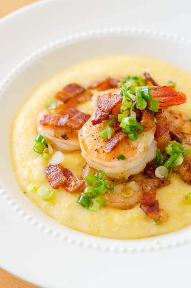 Shrimp and Grits is a classic Southern dish