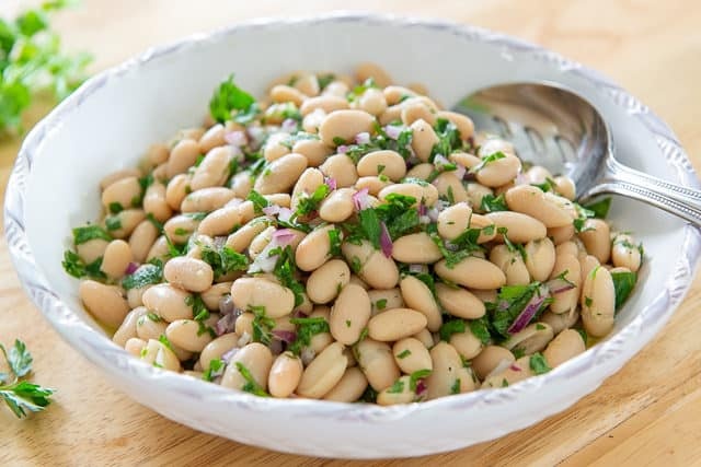 Cannellini Bean Salad - With Fresh Herbs and Lemon