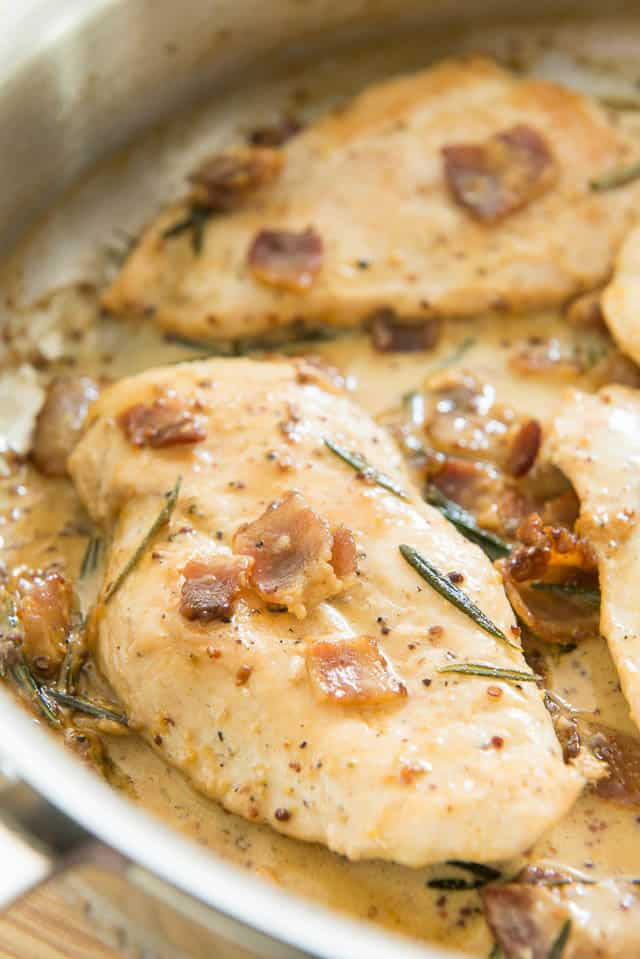 Chicken Cutlets with Mustard Cream Sauce is a quick and flavorful recipe, perfect when you need an easy weeknight meal.