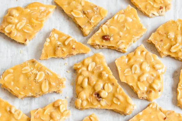 Old Fashioned Peanut Brittle Recipe - Homemade Candy