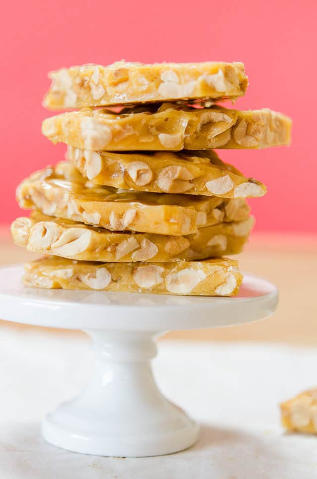 Peanut Brittle - How to Make Peanut Brittle From Scratch