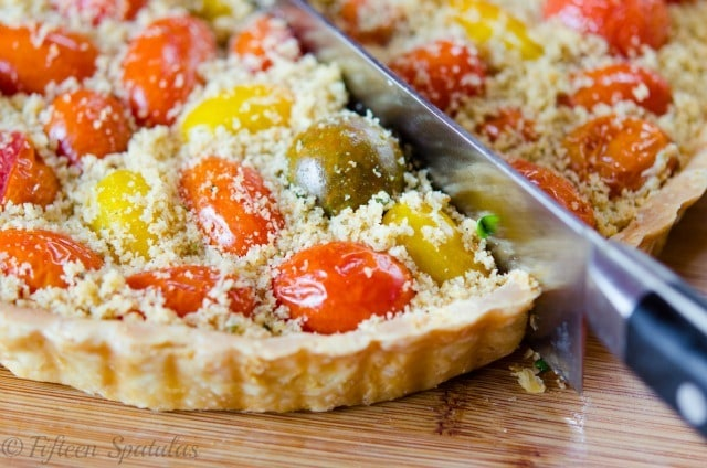 Burst Tomato Tart Fifteen Spatulas