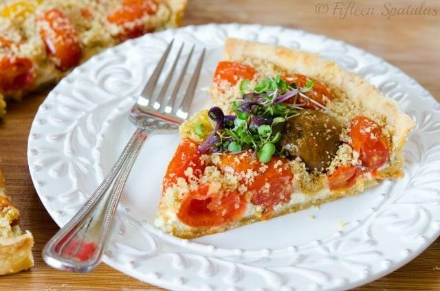 Cherry Tomato Tart Recipe