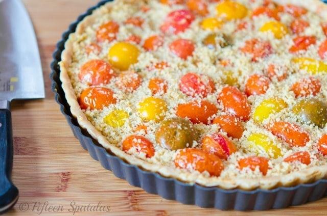 Heirloom Tomato Tart Fifteen Spatulas