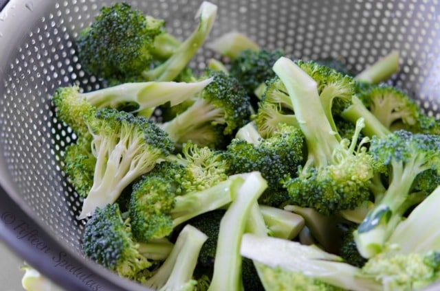 broccoli florets for beef stir fry