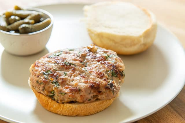 This is the Best Turkey Burger Recipe and it's quick to make!