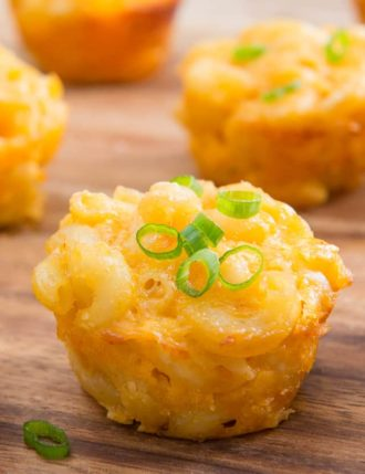 Two-bite Mac and Cheese Cups