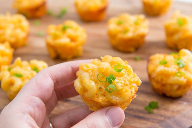 Mac n Cheese Bites for Party Appetizer
