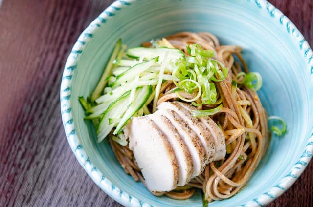 Sesame Soba Noodles - Cold and Refreshing for a Summer Dinner!