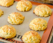 Cheddar Drop Biscuits - Drop Biscuit Recipe