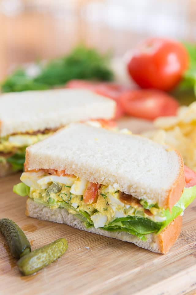 Egg Salad - The Best Recipe! #eggsalad #eggs #eggsaladsandwich #lunch
