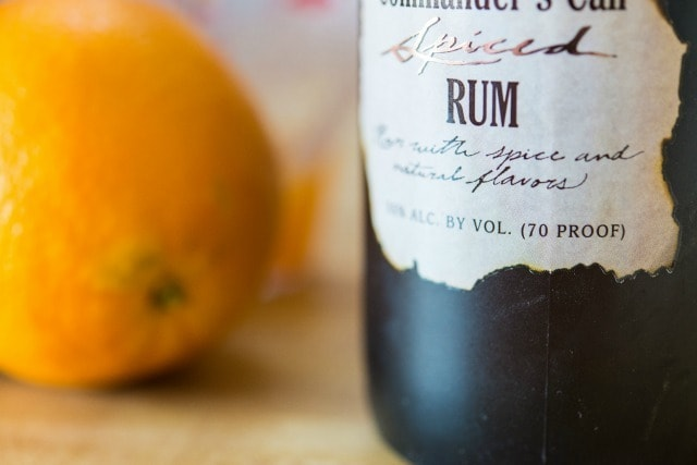 Rum Orange Cranberry Sauce Recipe