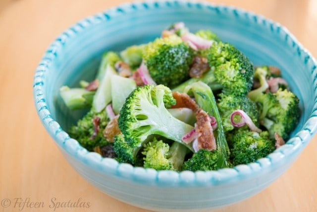 BroccoliSaladRecipeFifteenSpatulas