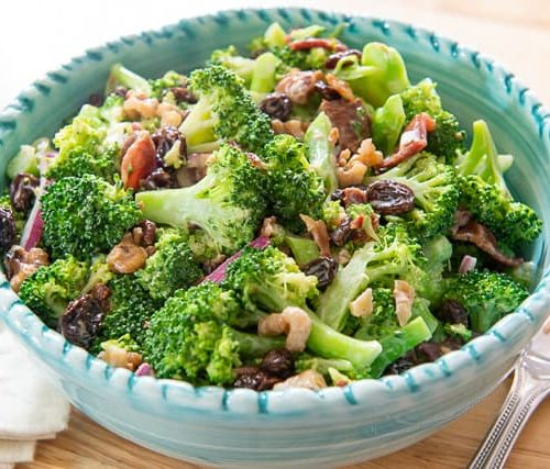 Broccoli Salad Fifteen Spatulas