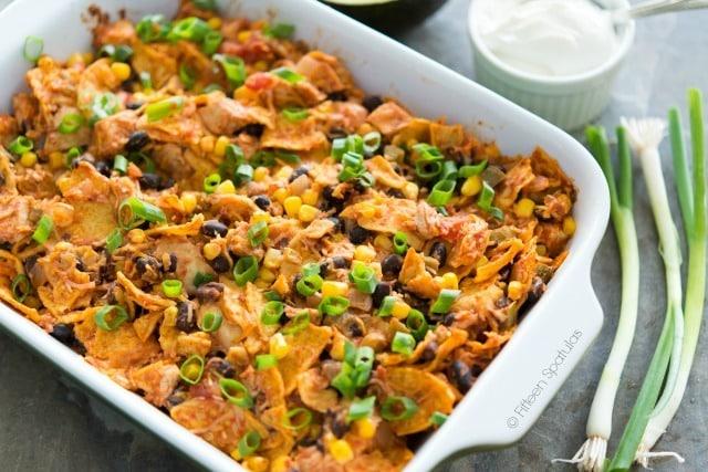 Quick Weeknight Mexican Chicken Casserole Recipe