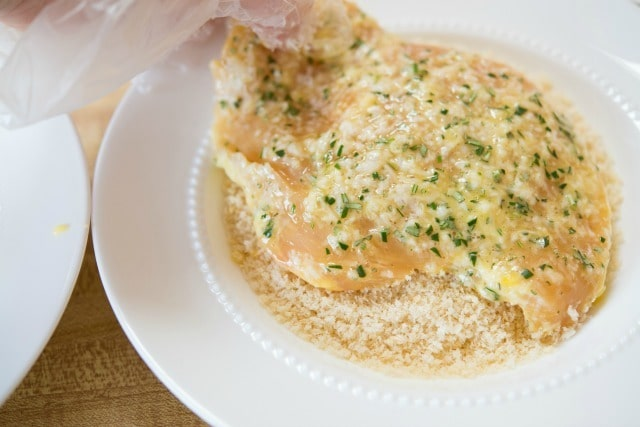 Quick Weeknight Dinner Idea: Parmesan Crusted Chicken