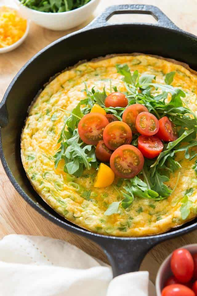 Potato Frittata - Egg and Potato Frittata