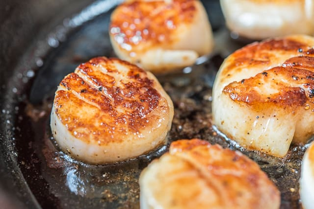 Seared Scallops How To Cook Scallops Perfectly With A Golden Brown Crust