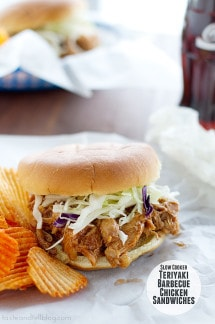 Slow-Cooker-Teriyaki-Barbecue-Chicken-Sandwiches-recipe-taste-and-tell-2