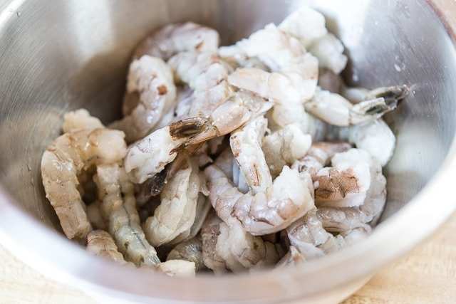 How to Make Shrimp Linguine - With Thawed Shrimp from the Freezer