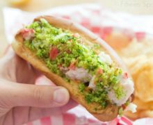 Lobster Roll - With Herb Potato Chip Topping